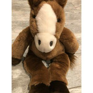 Retired Build a Bear BABW Horse Pony Stuffed Plush
